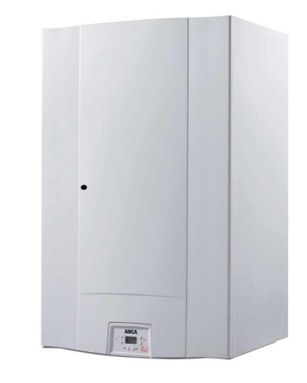 Centrala termica pe gaz in condensatie ARCA PIXELFAST B 29 F cu boiler