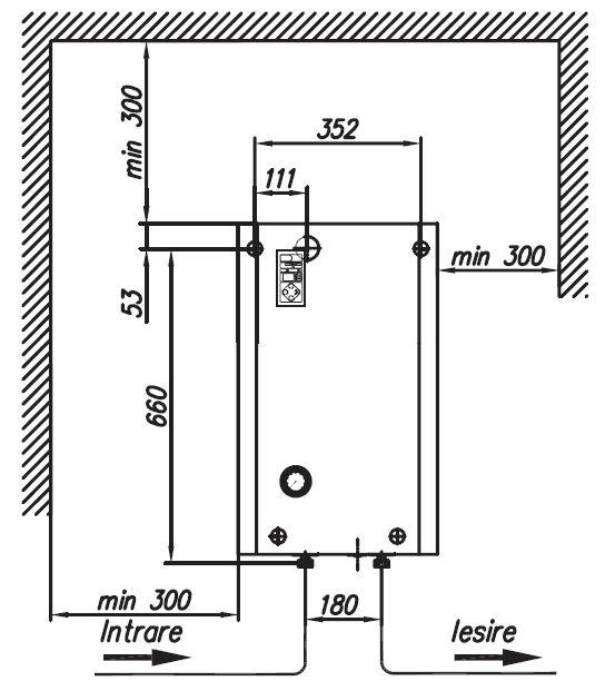 Centrala electrica KOSPEL VISION - schema de montaj