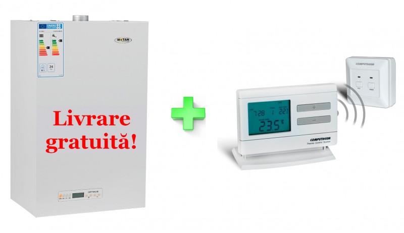 Centrala termica Motan Optimus ERP 24 Kw + termostat cadou
