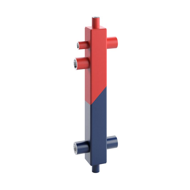 Butelie de egalizare SINUS 60/50 + izolatie EPP 3 m³/h