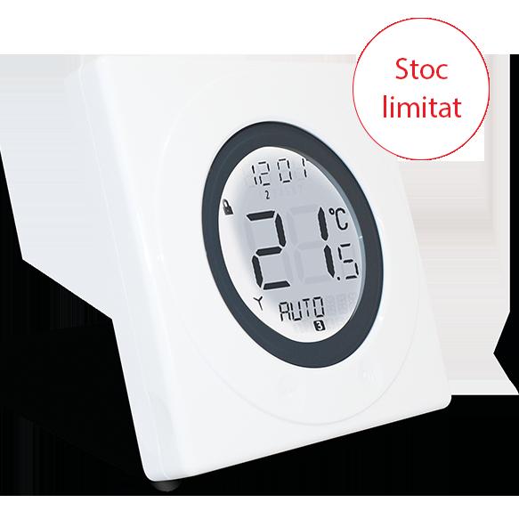 Termostat programabil cu fir si inel tactil Salus ST620