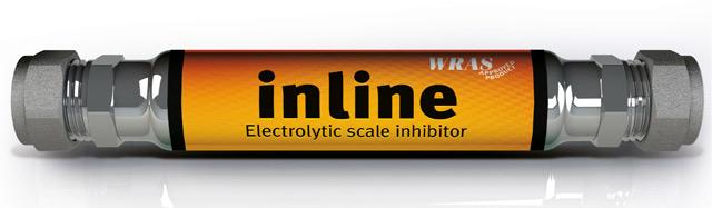 Filtrul electrolitic anticalcar TRAPPEX INLINE DN 15 mm