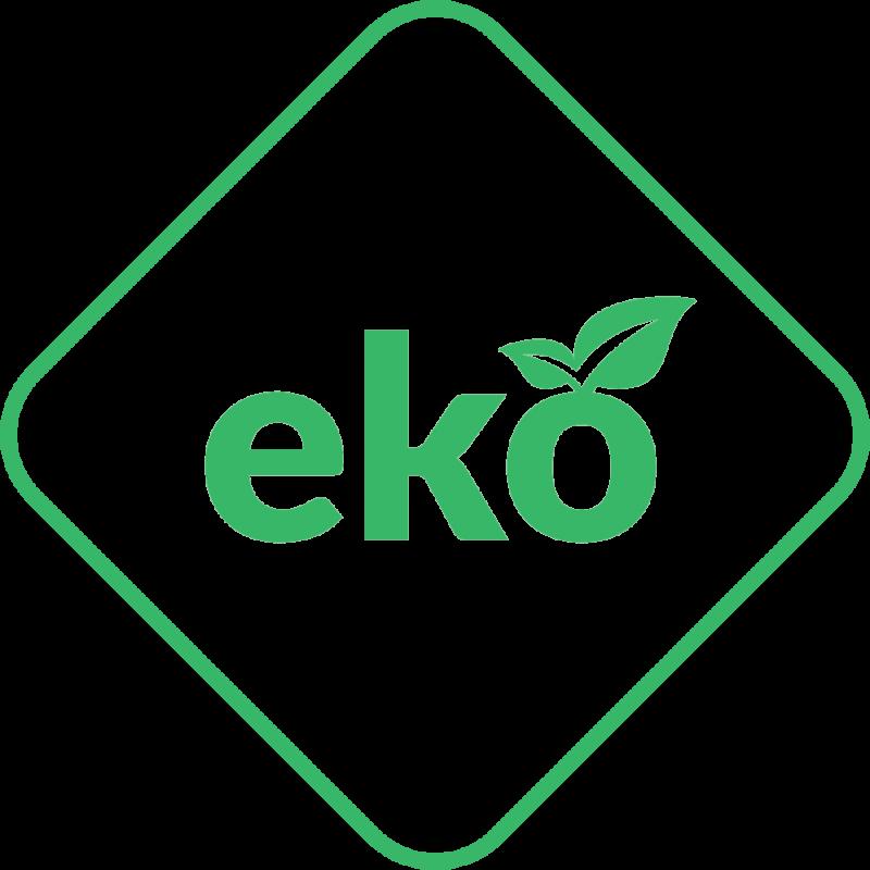 Soba-semineu pe lemn din fonta K9 10 kW cu regulator automat de tiraj - sigla EKO