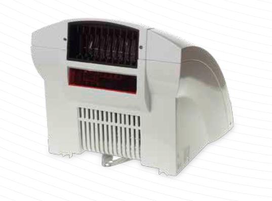 Uscator de maini cu senzor de proximitate SIKU OB 114 N - vedere din spate