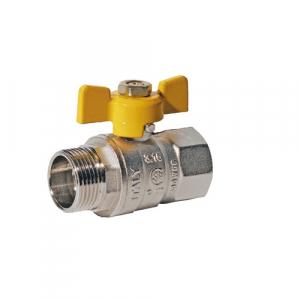 ROBINET DE TRECERE CU SFERA SI FLUTURE PT GAZ , PN25bar, FE-FI 1/2