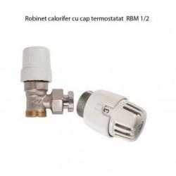 Robinet cu cap termostatat RBM 1/2