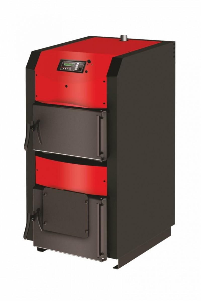 Centrala termica pe lemn cu semigazeificare BURNIT WBS Active 40 kW