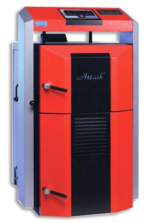 Centrala termica pe lemn cu gazeificare ATTACK 75 DP PROFI