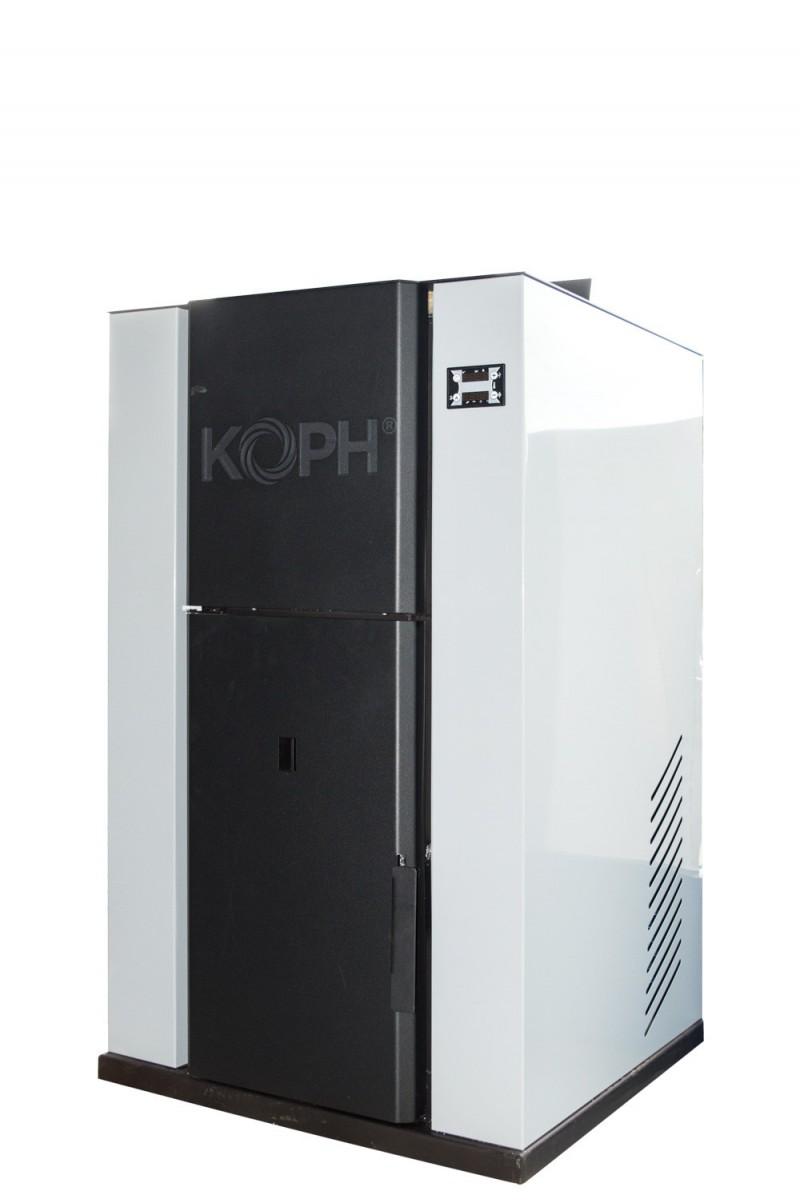 Centrala termica pe peleti PM 35 kW - culoare gri