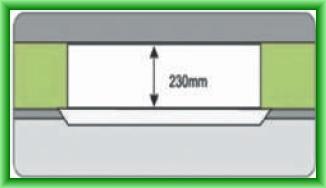 Echipament de climatizare comerciala CHIGO CASETA DC-INVERTER - inaltime redusa = 230 mm