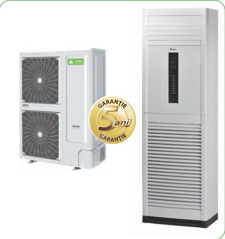 Echipament de climatizare comerciala CHIGO COLOANA DC-INVERTER