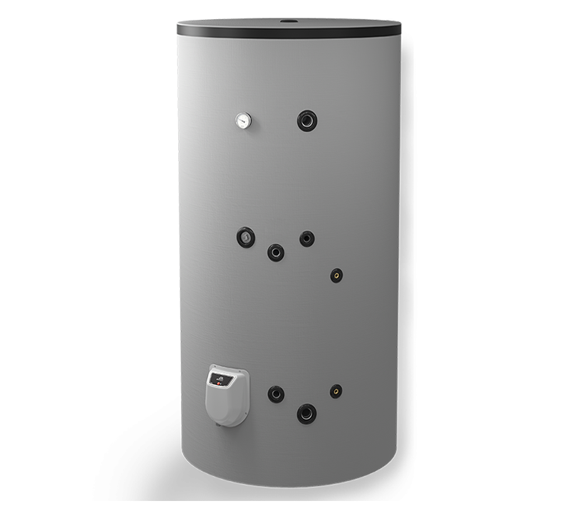 Boiler termoelectric emailat cu o serpentina Eldom Green Line - 1000 L