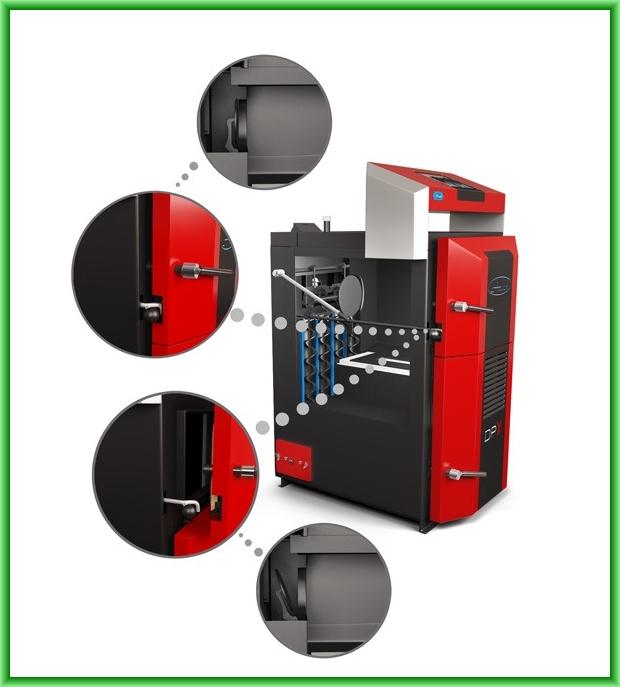 Centrale termice pe lemn cu gazeificare ATACK DPX - detalii elemente constructive