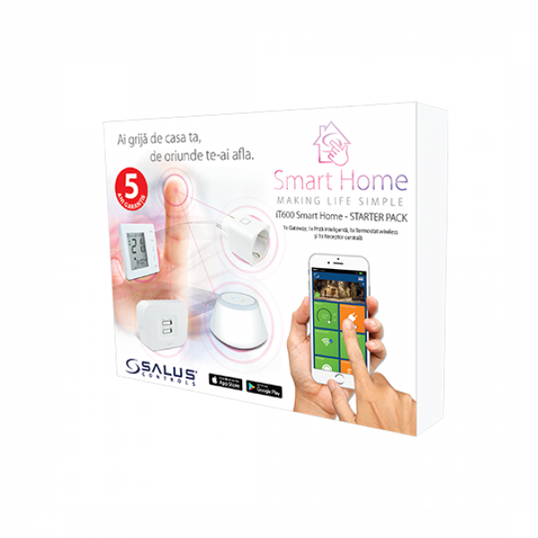 Pachet Start termostat Salus Smart Home iT600