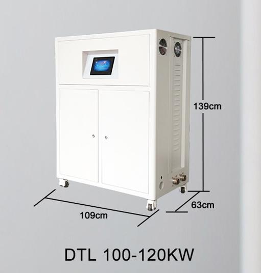 Centrala termica electrica cu inductie OFS-DTL 120 kW - dimensiuni de gabarit