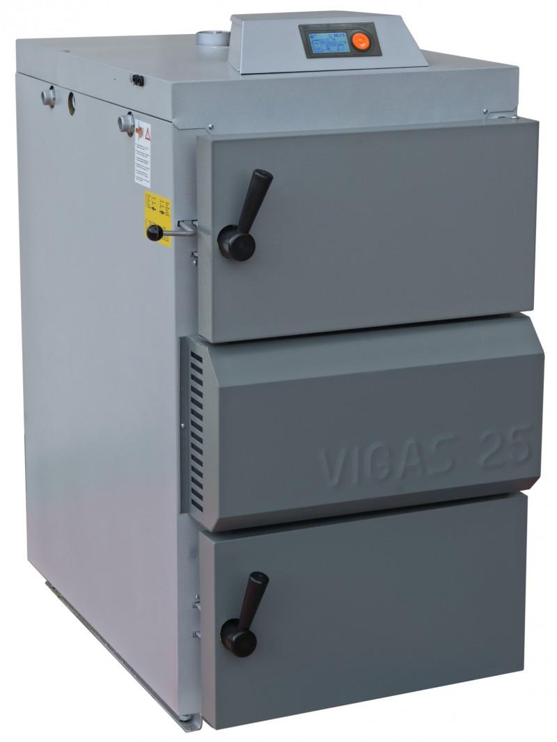 Centrala termica pe lemn cu gazeificare VIGAS.25 25 kW