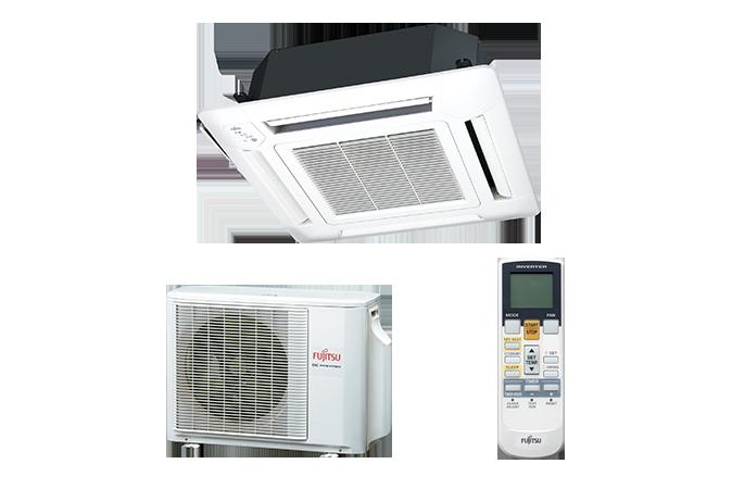 Echipament de climatizare tip caseta FUJITSU AUYG24LVLA/AOYG24LALA 24000 BTU