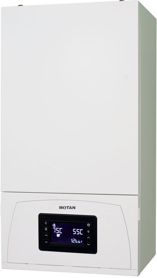 Centrala termica pe gaz in condensatie MOTAN CONDENS 100 25 kW - vedere dreapta