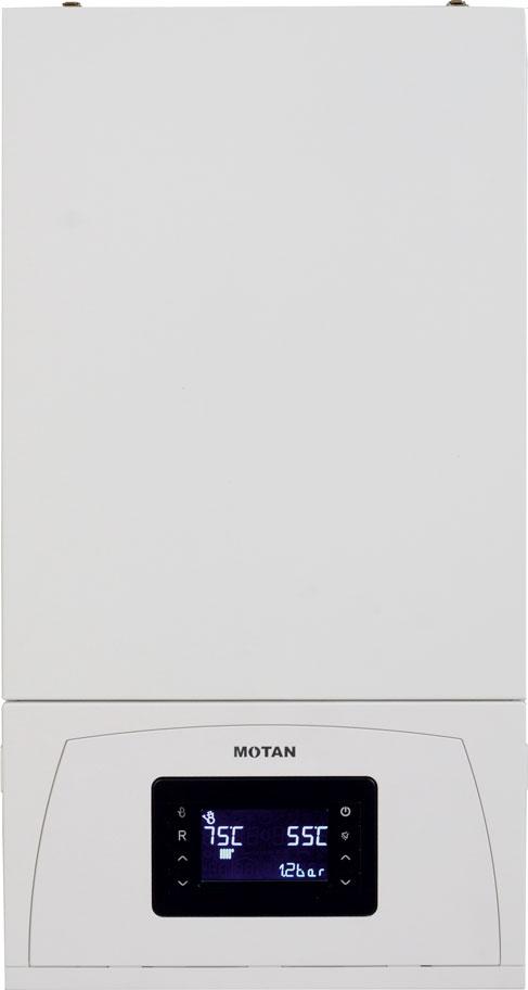 Centrala termica pe gaz in condensatie MOTAN CONDENS 100 25 kW - vedere fata