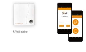 Termostat ambiental cu radiofrecventa RF si WiFi FERROLI CONNECT - conexiune WiFi