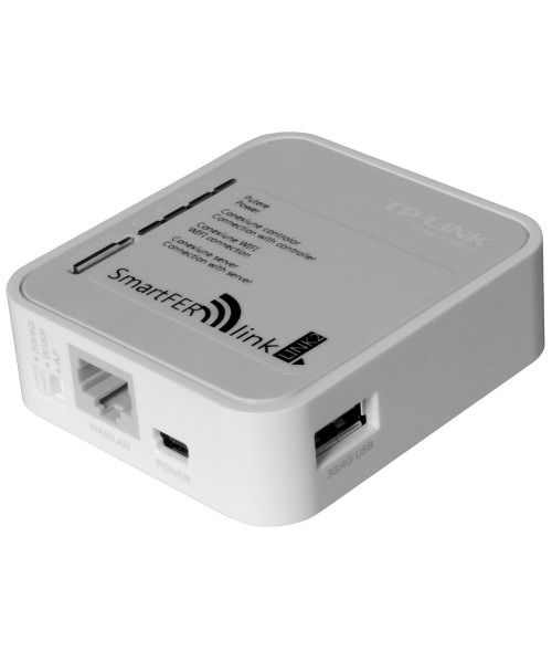 Modul de conectare la internet SmartFer-link vedere mufe de racordare