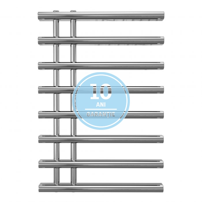 Radiator port-prosop decorativ cromat RADOX LINX - vedere din fata