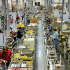 Fabrica Viessmann din Alendorf Germania