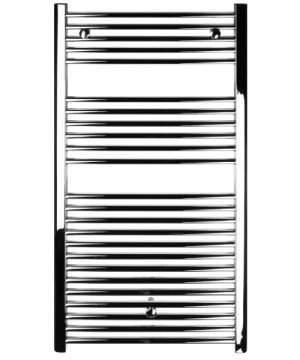 poza Radiator port-prosop FERROLI model VENUS CHROMED curbat 500x800
