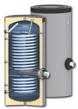 poza Boiler cu serpentine marite pentru instalatii cu pompe de caldura model SWPN2 400