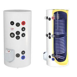 Poza Boilere termoelectrice emailate cu doua serpentine Eldom seria Green Line - 150 litri
