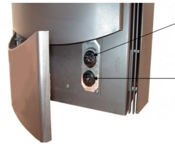 Poza Soba-semineu pe lemn Alfa-Plam Premier - reglare aer de combustie