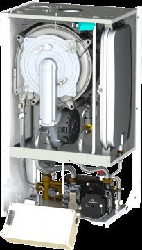 Poza Centrala termica Motan MKDens35 - vedere interioara