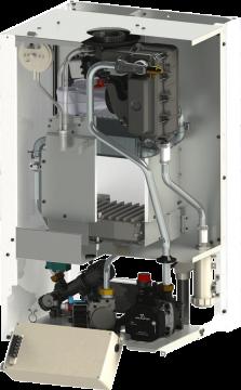Poza Centrala termica in condensatie Motan Green 28 kW Vedere interioara