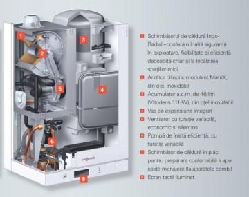 Poza Centrala termica pe gaz in condensatie Vitodens 111-W