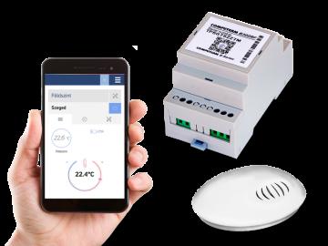 Poza Controler de temperatura conectat la Internet COMPUTHERM B300RF Wi-Fi cu senzor de temperatura cu radiofrecventa