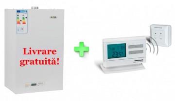 Poza Centrala termica Motan Optimus ERP 24 Kw + termostat cadou