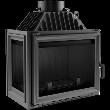 Poza Focar de semineu din fonta M80 geam stanga 8 kW