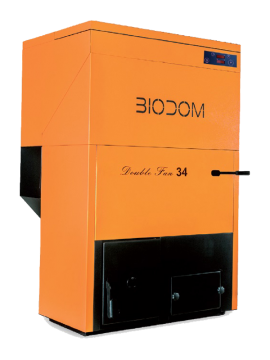 poza Centrala termica pe peleti BIODOM B27 C5 30 kW