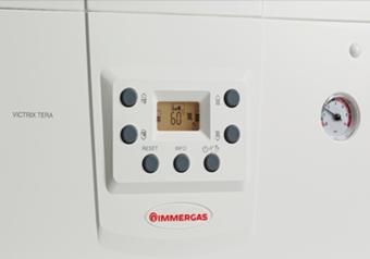 Poza Centrala termica pe gaz in condensatie Immergas VICTRIX TERA COMBI - panou de comanda