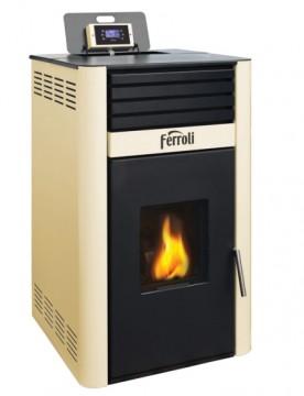 poza Termosemineu pe peleti Ferroli MIRANO PELLET 18 kW
