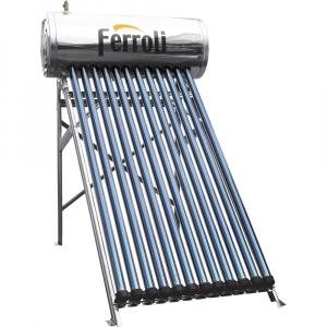 poza Panou solar presurizat EcoHeat 200 cu 20 tuburi si boiler inox 200 L