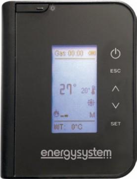 Poza Semineu pe peleti tip insert Primo 15 13,5 kW - telecomanda
