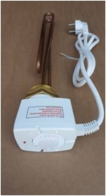 poza Rezistenta electrica trifazata 9 KW cu termostat