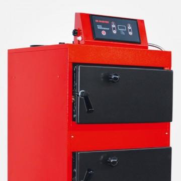 Poza Centrala termica pe lemn cu tiraj fortat si regulator automat Maktek MKK