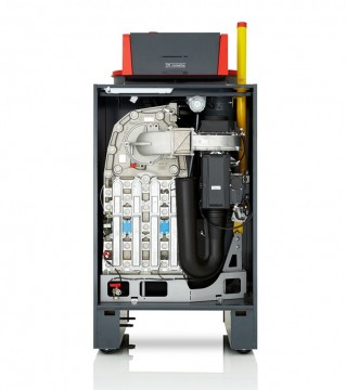 Poza Centrala termica in condensatie pentru gaz metan REMEHA G220 ACE - vedere frontala fara capac
