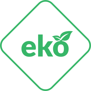 Poza Soba-semineu pe lemn din fonta K9 10 kW cu regulator automat de tiraj - sigla EKO