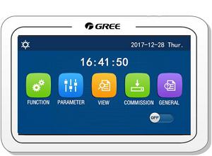 Poza Pompa de caldura monobloc monofazata GREE Versati III - telecomanda
