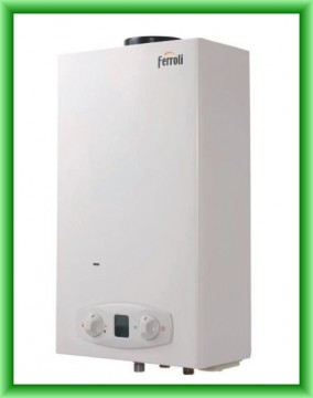poza Instant de apa calda Ferroli ZEFIRO ECO 11 GAZ GPL