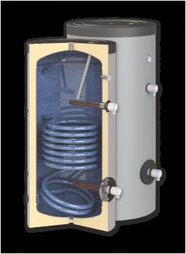 poza Boiler de apa calda cu acumulare SUNSYSTEM SN 150 1S