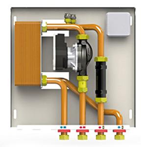 Poza Kit hidraulic pentru separare circuite de incalzire (optional)